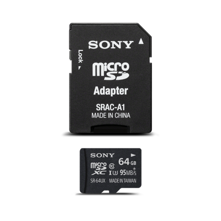 Micro SD Memory Card & Adapter
