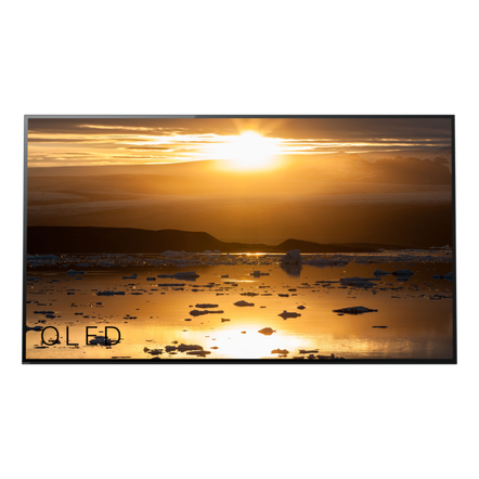"55"" A1 4K HDR OLED TV with Acoustic Surface and Android TV"