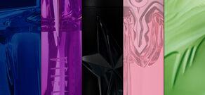 Los cinco colores Mugler
