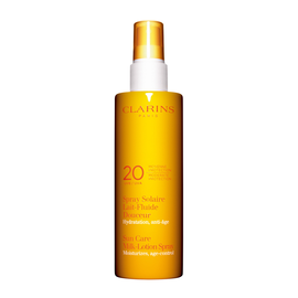 Spray Solaire Lait Fluide Douceur Moyenne Protection UVA/UVB 20