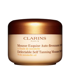 Delectable Self Tanning Mousse SPF 15