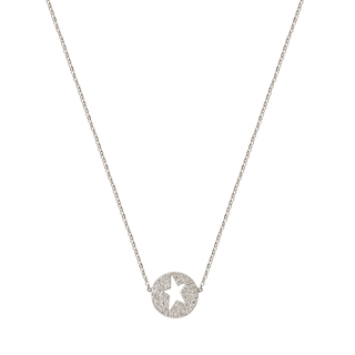 Circle Star Necklace