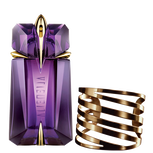 Alien Signature Fragrance and its Gold Cuff Bracelet