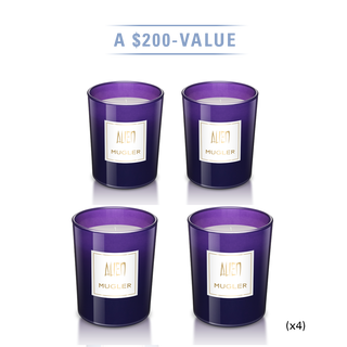ALIEN Scented Candles Set