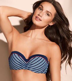 JETPLANE FLAIR Bikini top push-up with detachable straps