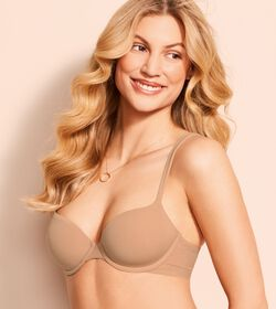 BODY MAKE-UP COTTON TOUCH Wired padded bra