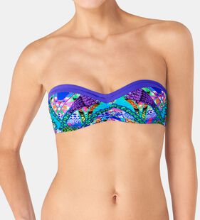 SLOGGI SWIM BRIGHT FANTASY Bikini top padded
