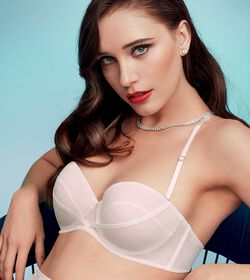 ORNAMENTAL ESSENCE Reggiseno push-up con spalline rimovibili