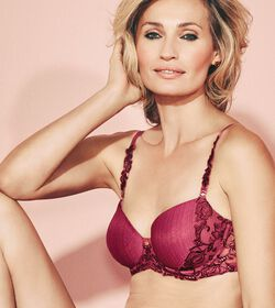 IRIS FLORALE Wired padded bra