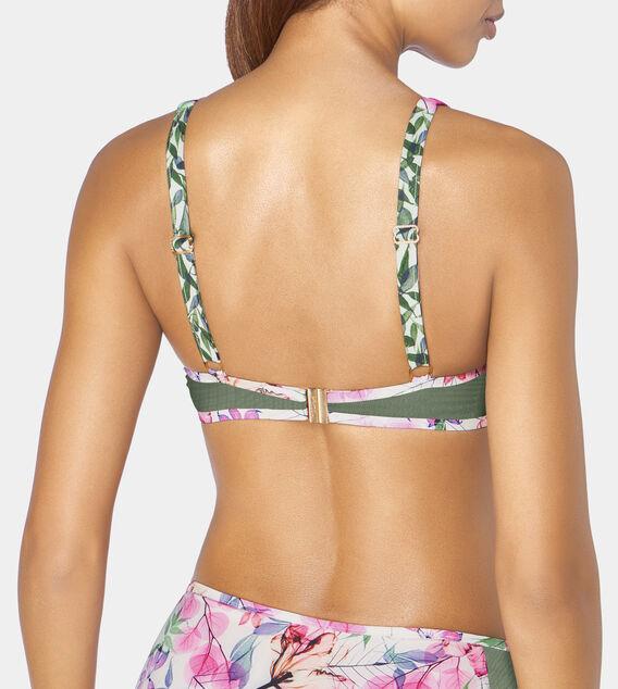 DELICATE FLOWERS Bikini Top wired