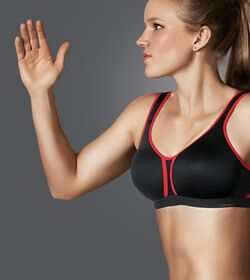 TRIACTION HYBRID STAR Sports bra non-wired