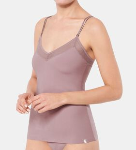 S BY SLOGGI SILHOUETTE Top med spaghettistropper