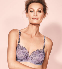 SUBLIME FLORALE Wired padded bra