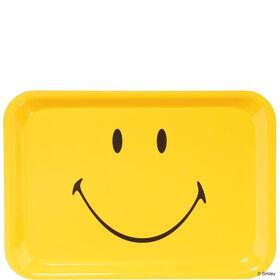 SMILEY Tablett Smiley gelb