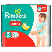 Pampers Baby-Dry Pants Größe 5 (Junior) 12-18 kg, 24 Windeln