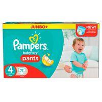 Pampers Baby-Dry Pants Größe 4 (Maxi) 8-15 kg, 72 Windeln