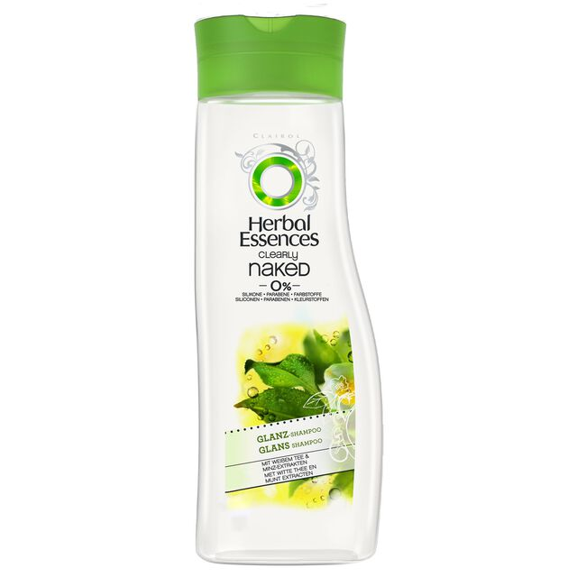 Herbal Essences Clearly Naked (0 %) Glanz-Shampoo 250 ml
