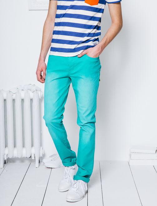 Pantalon 5 poches coupe slim homme