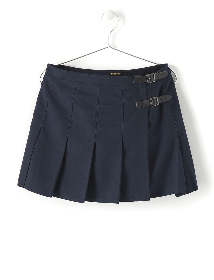 jupe kilt femme bleu marine bizzbee. Black Bedroom Furniture Sets. Home Design Ideas