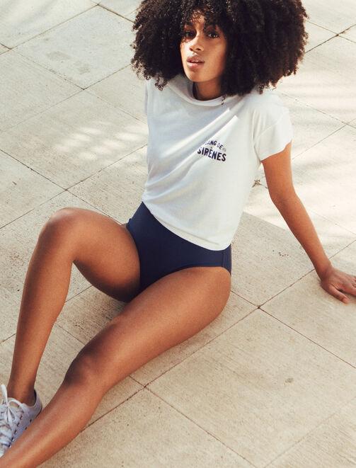 """Tee shirt """"Gang de sirènes"""" X Paulette femme"""