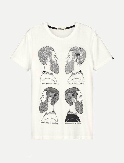 Tee shirt imprimé Loading homme