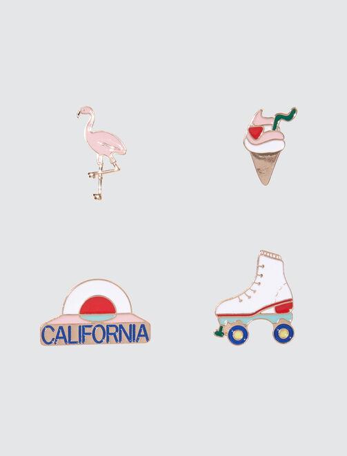Set de Pins California  femme
