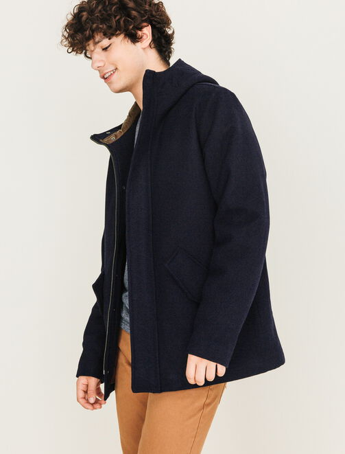 Parka en laine chaude homme