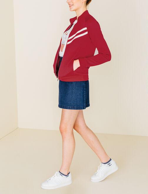 Veste zippée sportive femme