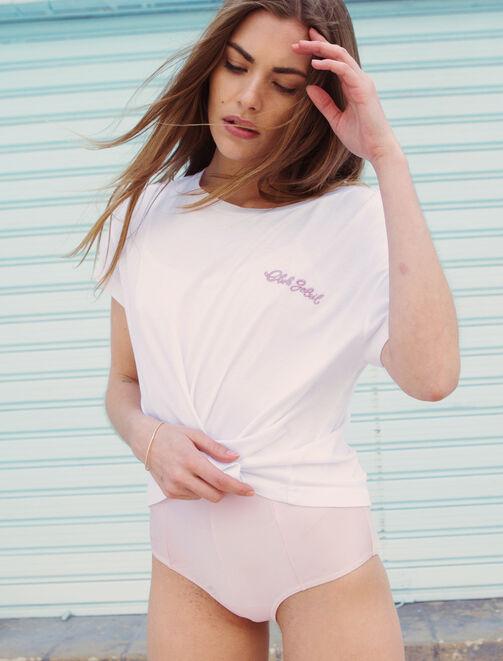 """Tee shirt """"Club soleil"""" X Paulette femme"""