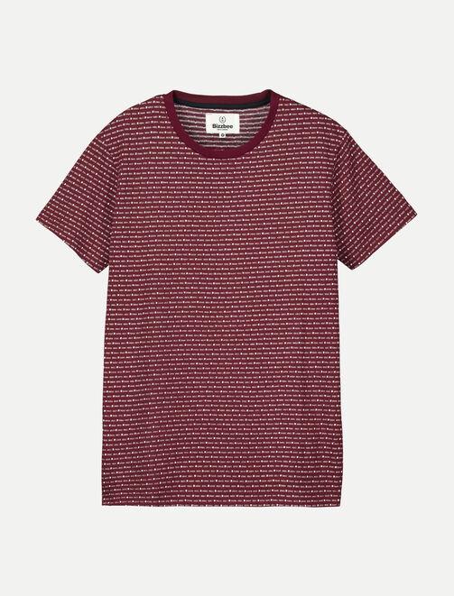 T-shirt jacquard  homme