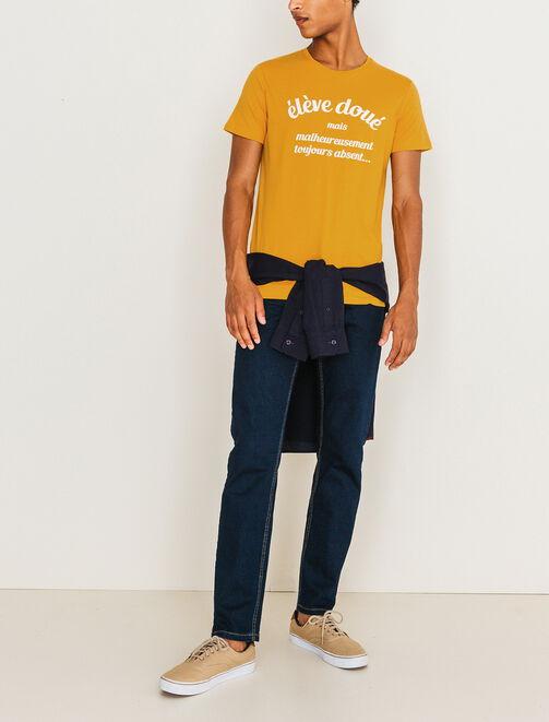 "T-shirt ""élève doué"" homme"