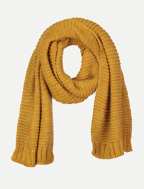 Echarpe en tricot femme