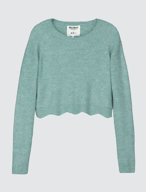 Pull cropped femme