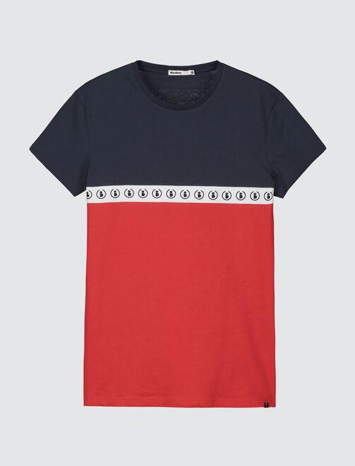 T-shirt color-block sportif homme