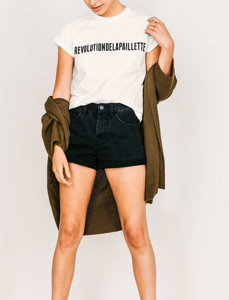 "T-shirt ""Révolution de la paillette"""