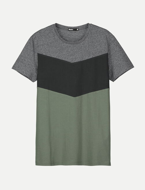 T-shirt neo color-block homme