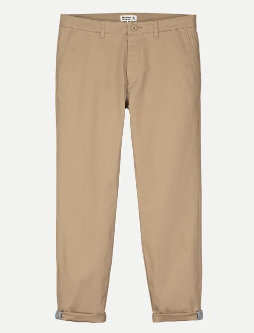 Pantalon chino court homme