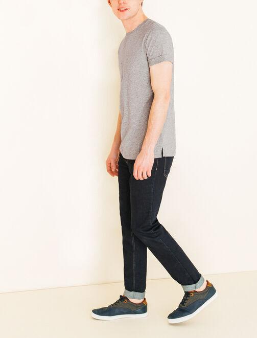 Tee shirt basique moucheté homme
