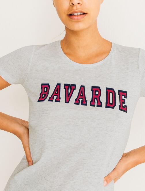 Tee Shirt Bavarde femme