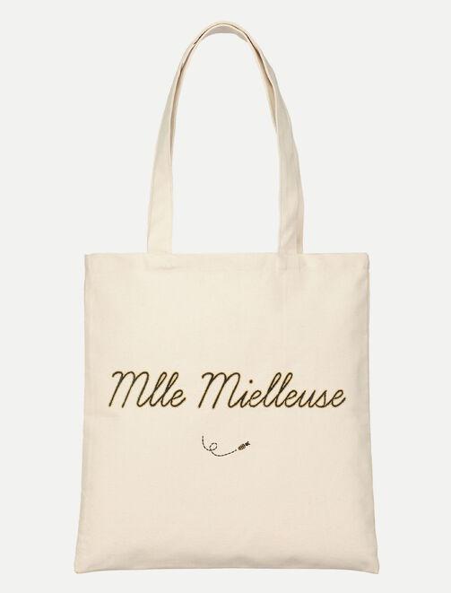 """Tote bag """"Mlle Mielleuse"""" X La Gentle Factory femme"""