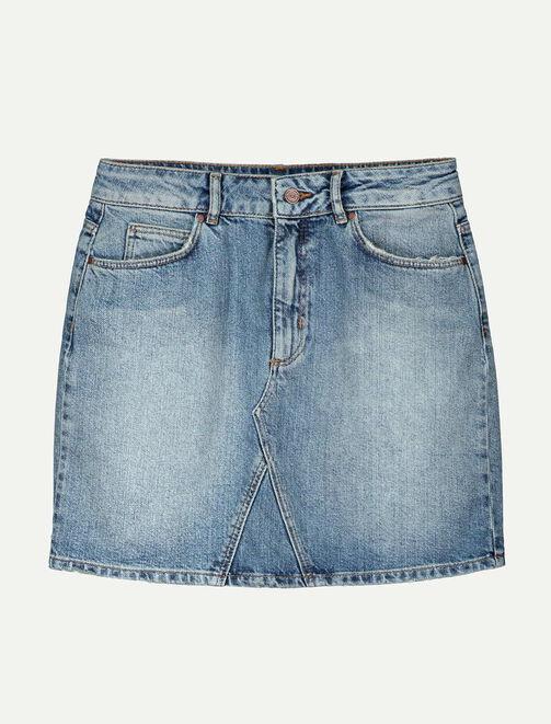 Jupe en jean courte  femme