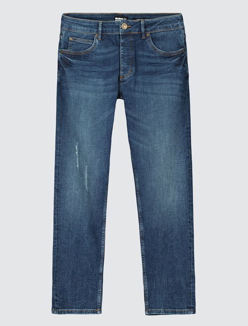Jean skinny stone cropped homme