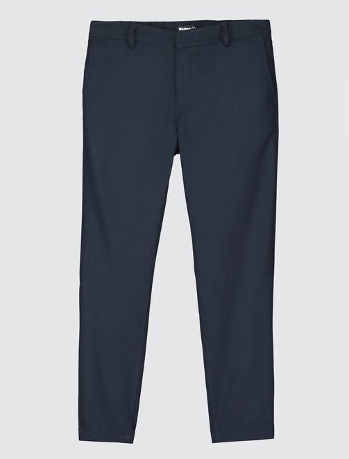 Pantalon de ville fluide homme