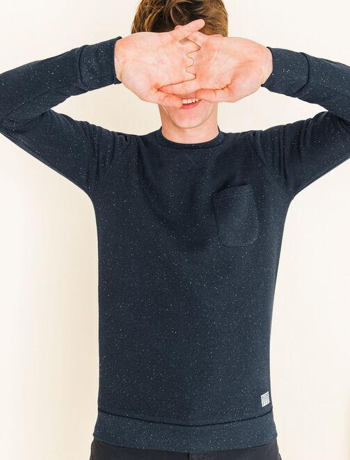 Sweat basique col rond homme