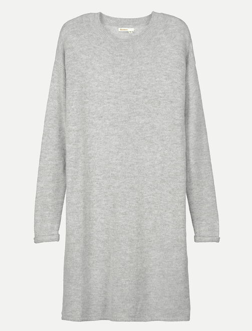 Robe pull unie femme