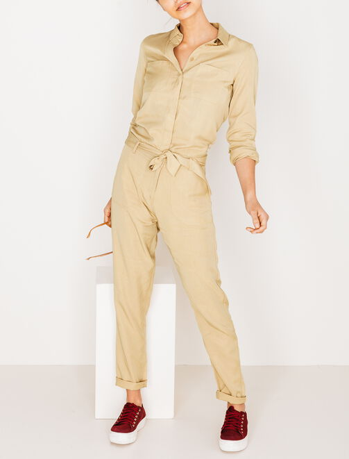 Combi-pantalon work femme