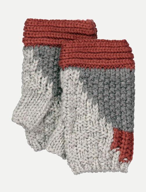 Mitaines en tricot femme
