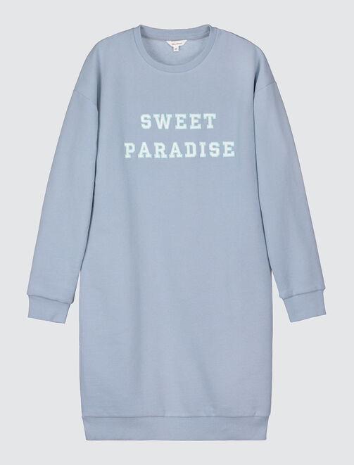 Robe sweat Sweet Paradise femme
