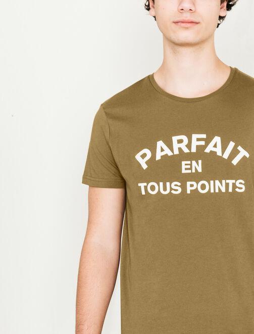 """T-shirt """"Parfait en tous points"""" homme"""