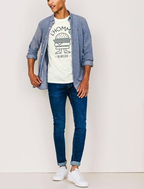 """T-shirt """"L'Homme Burger"""" homme"""